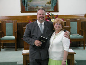Bro. Chris and his wife Stefanie