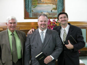 Bro. Doyle Reed, Bro. Chris, and Bro. John Foles